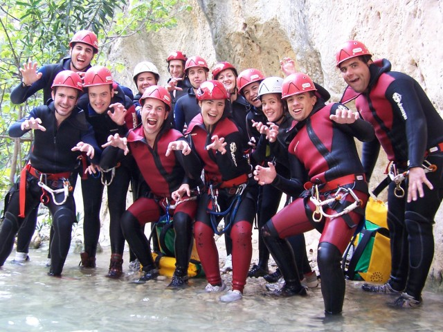 Canyoning in Guadalest Valley