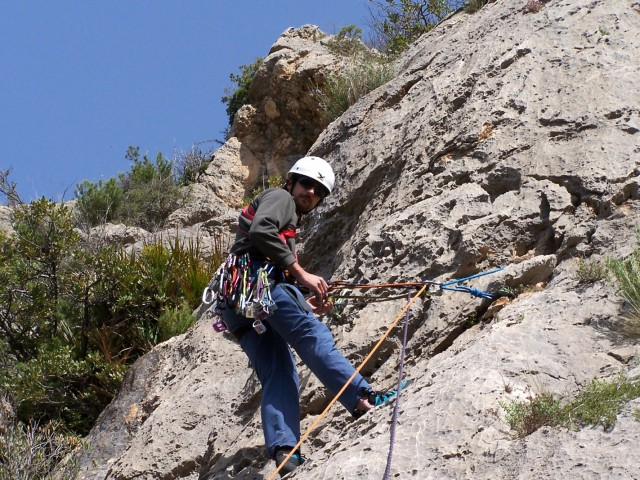 Climbing in Alicante - Climbing in Guadalest Valley