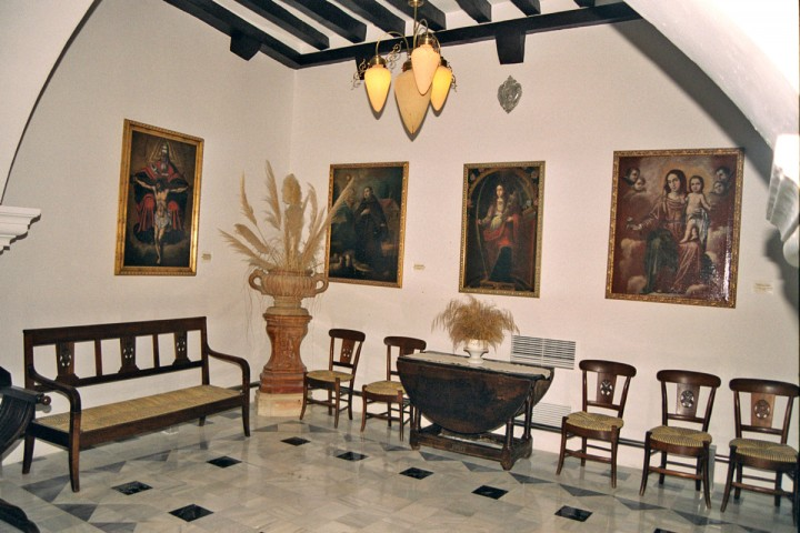 Orduña's House (Guadalest) – The room of the Arches