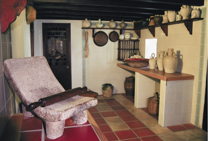 The Orduña's House (Guadalest) – The Kitchen