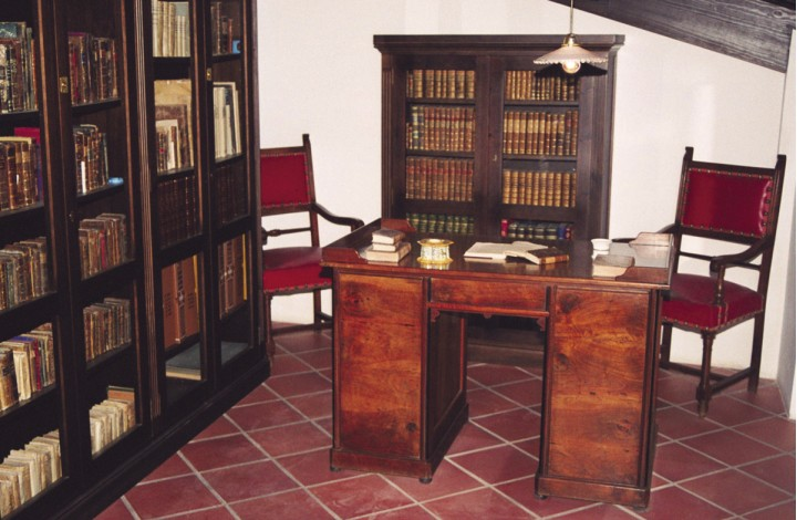 The Orduña's House (Guadalest) – The Library