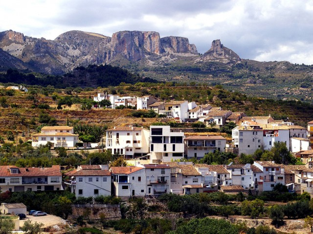 Benimantell (Valley of Guadalest)