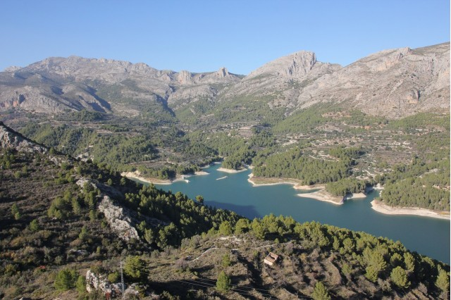 Rural apartments in the valley of Guadalest to connect with nature